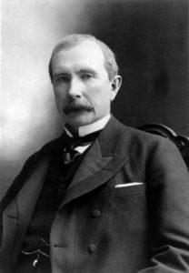 John D. Rockefeller portrait, 1885